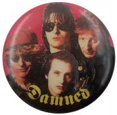 The Damned - 'Group Red' Button Badge